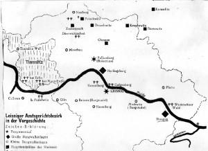 Leisniger Amtsgerichtsbezirk in der Vorgeschichte